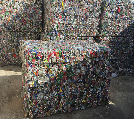 Metal and aluminium waste